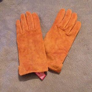 Anne Klein suede gloves sz S/M  NWT